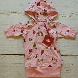 NWT 12-18M Oilily hoodie dress
